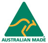 Australian Made spot colour logo 100